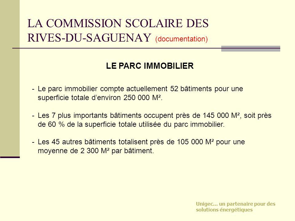 LA COMMISSION SCOLAIRE DES RIVES-DU-SAGUENAY (documentation)