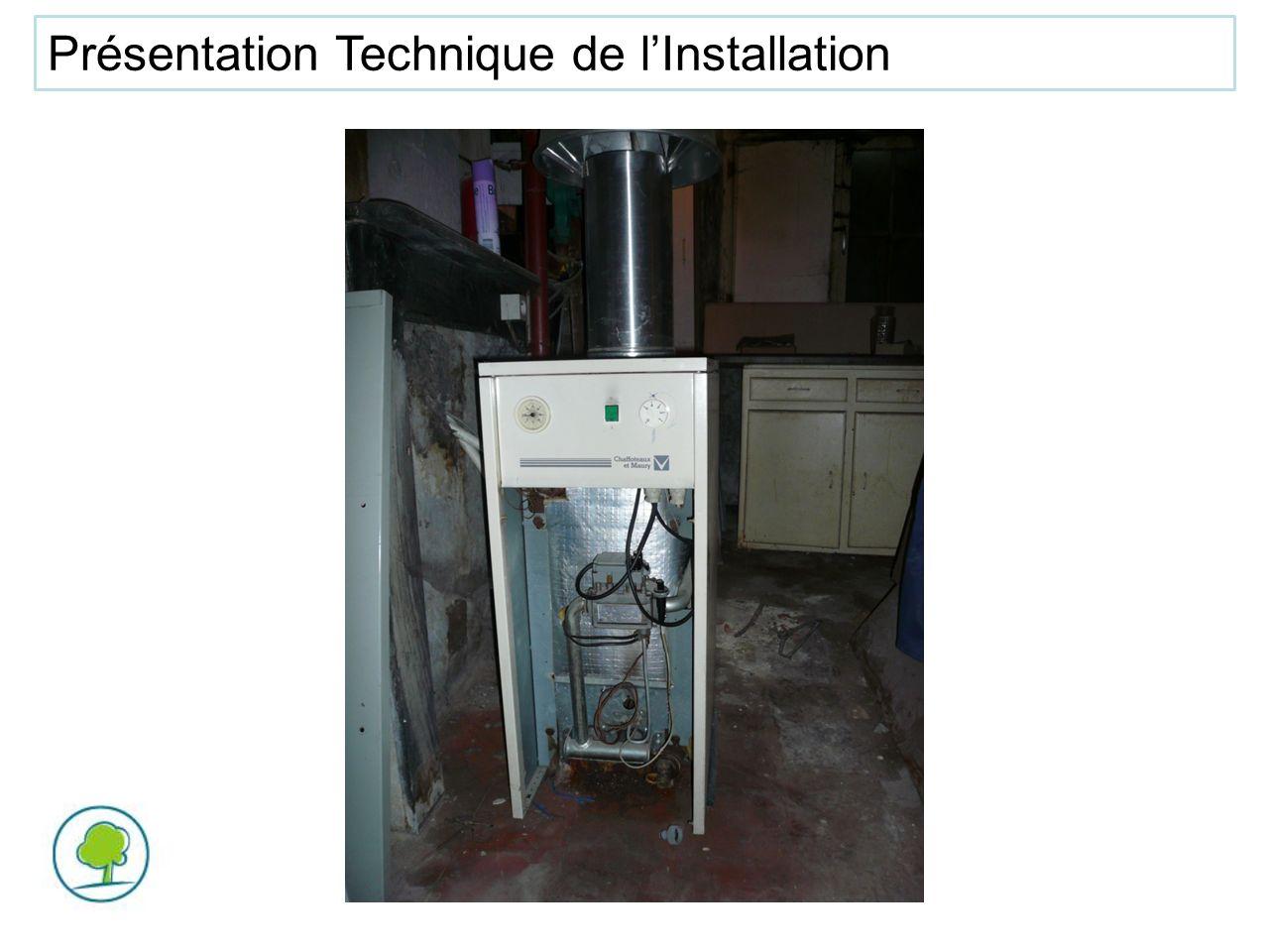 Présentation Technique de l'Installation