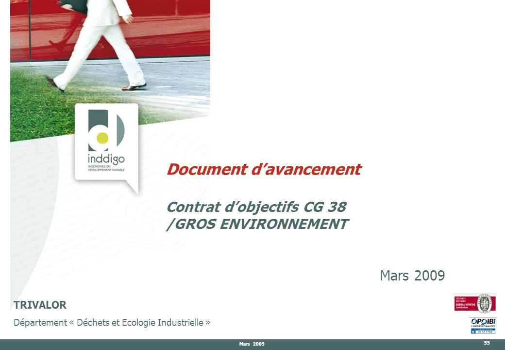 Document d'avancement