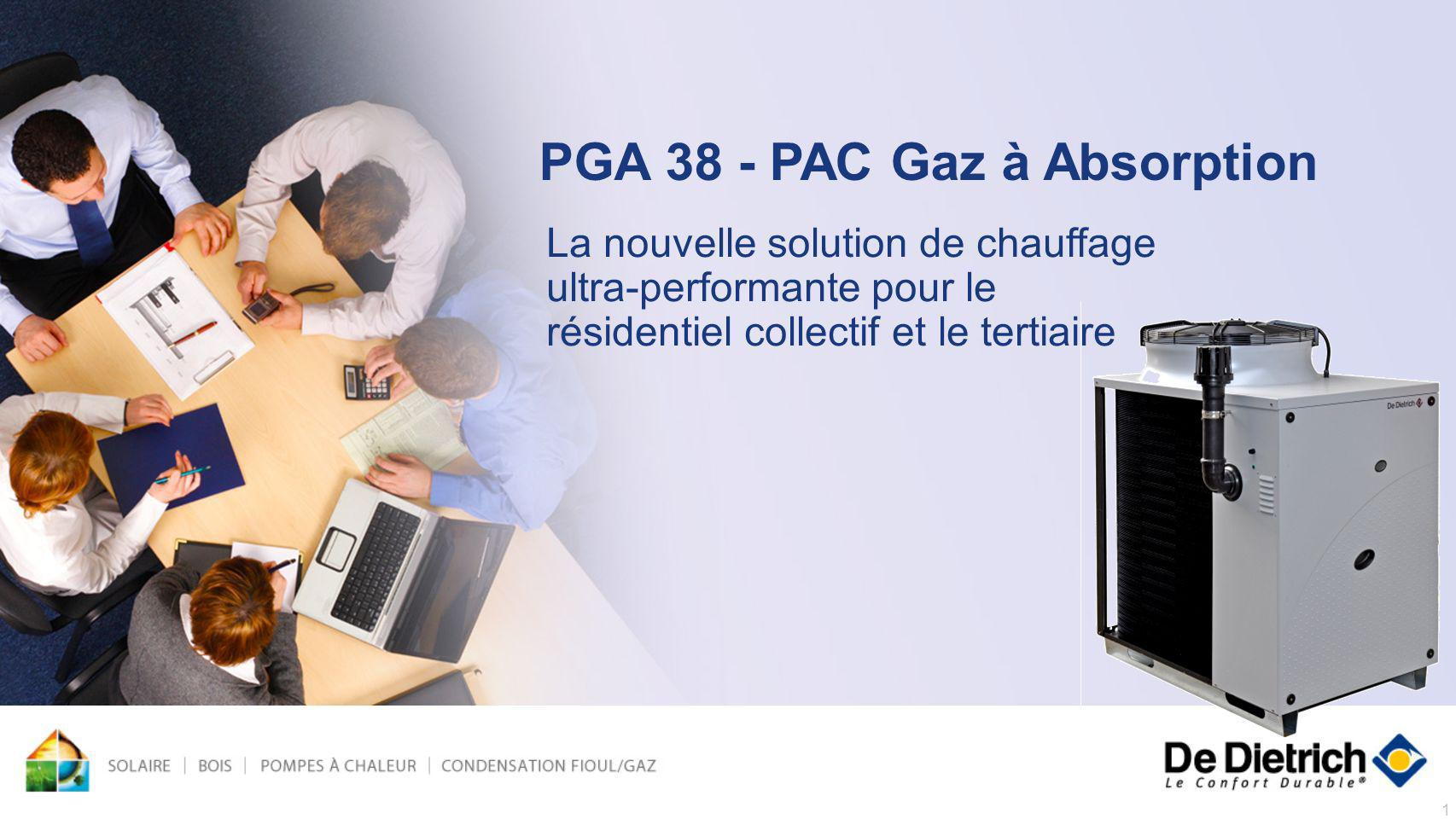 PGA 38 - PAC Gaz à Absorption