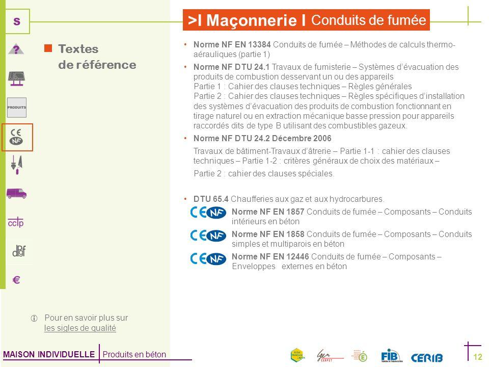 Textes de référence Norme NF EN 13384 Conduits de fumée – Méthodes de calculs thermo-aérauliques (partie 1)
