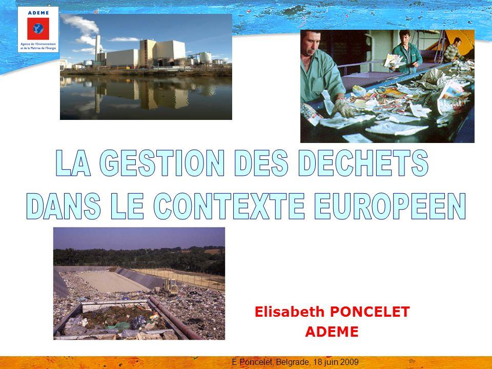 Elisabeth PONCELET ADEME