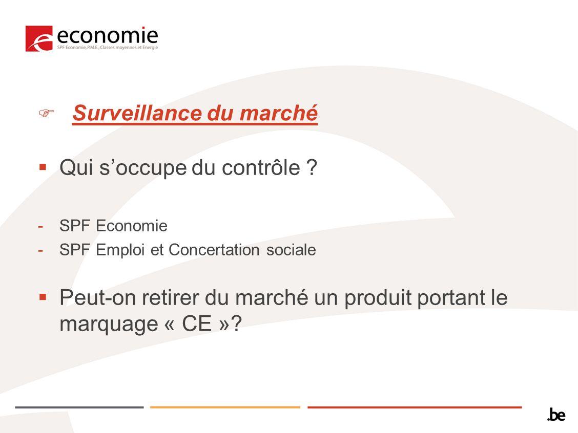 Surveillance du marché