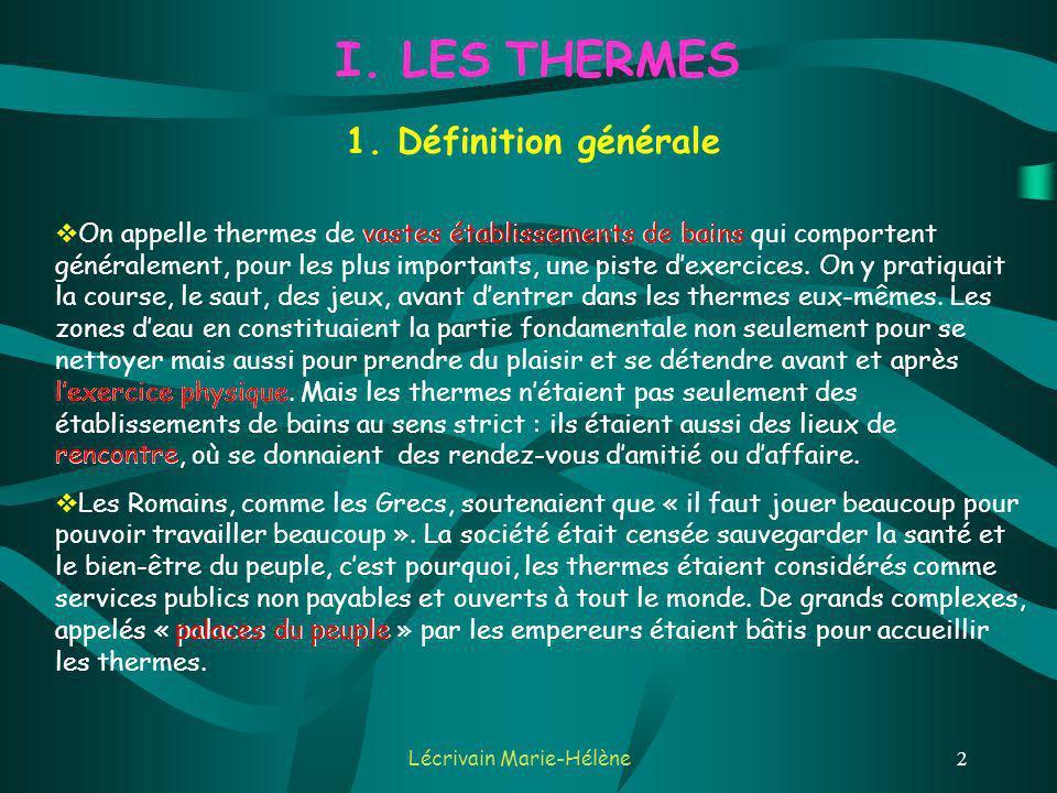 Lécrivain Marie-Hélène