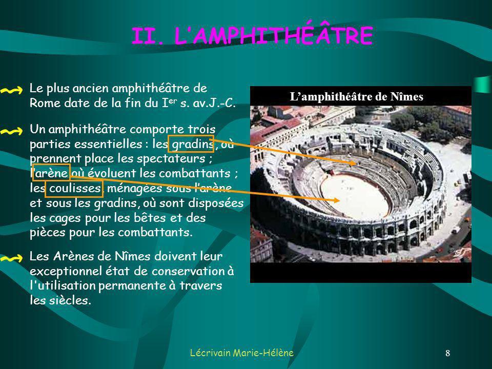 L'amphithéâtre de Nîmes
