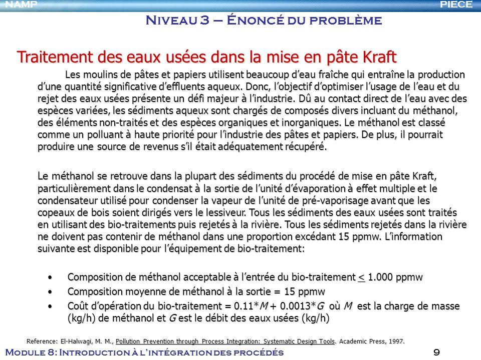 Traitement des eaux usées dans la mise en pâte Kraft
