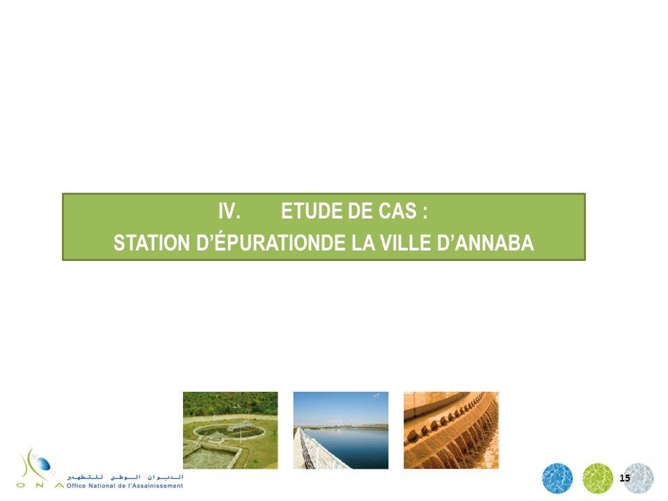 STATION D'ÉPURATIONDE LA VILLE D'ANNABA