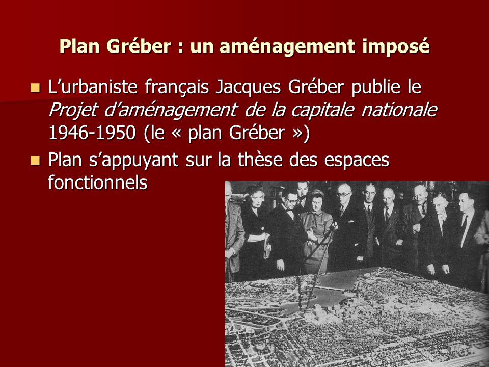 Plan Gréber : un aménagement imposé