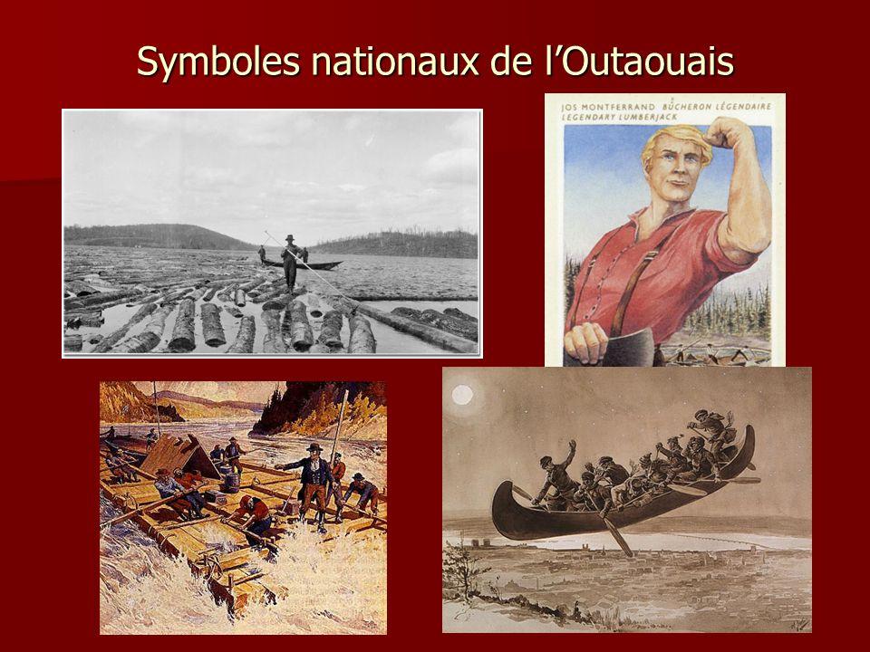 Symboles nationaux de l'Outaouais