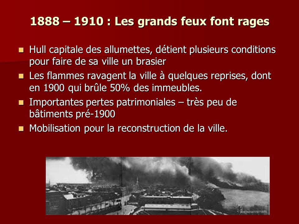 1888 – 1910 : Les grands feux font rages