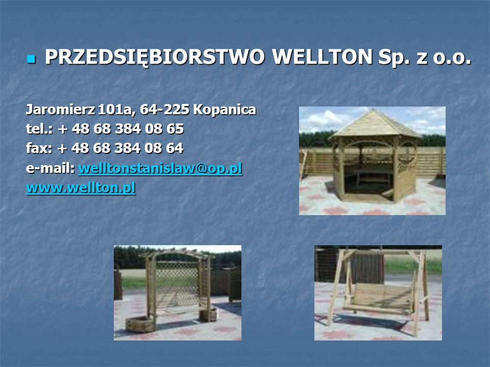 PRZEDSIĘBIORSTWO WELLTON Sp. z o.o.