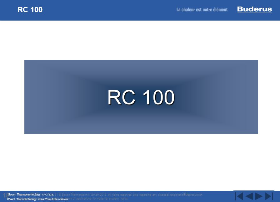 RC 100 RC 100. 18.