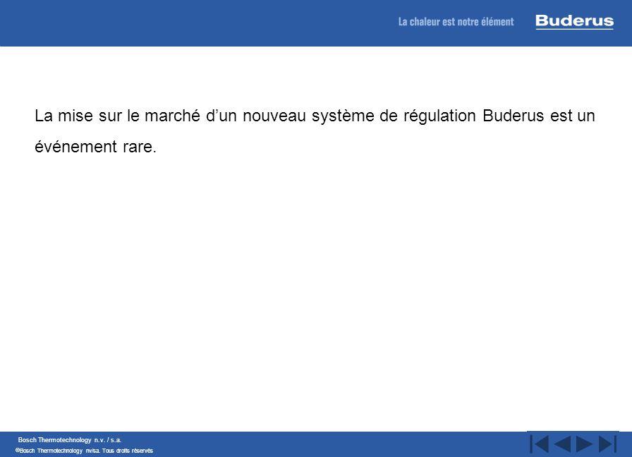 La mise sur le marché d'un nouveau système de régulation Buderus est un événement rare.