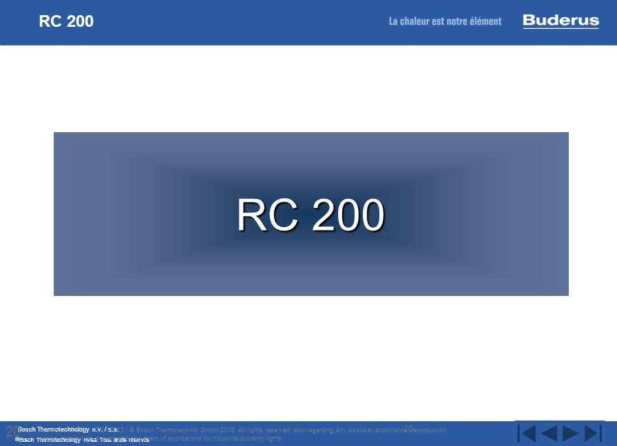 RC 200 RC 200. 20.