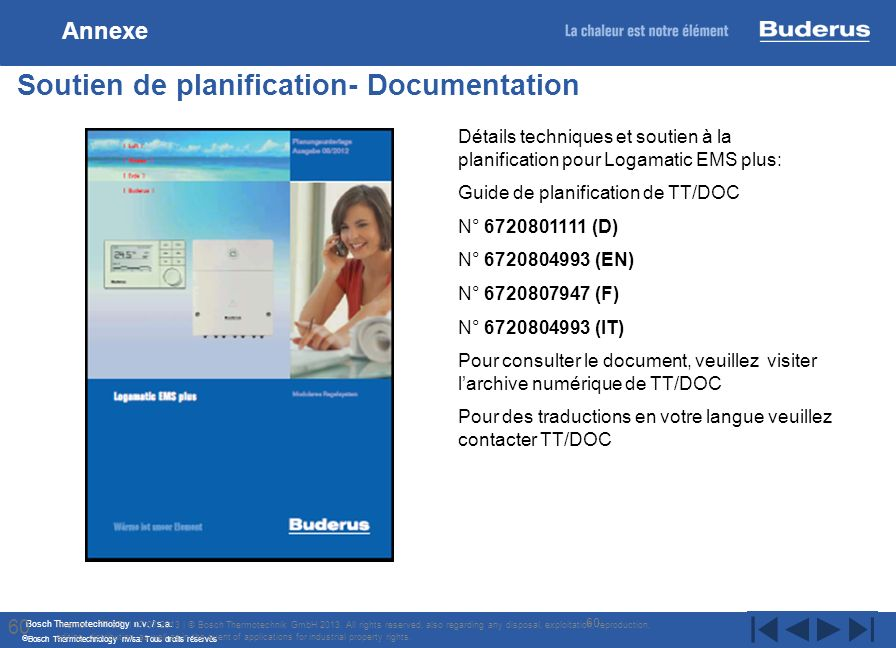 Soutien de planification- Documentation