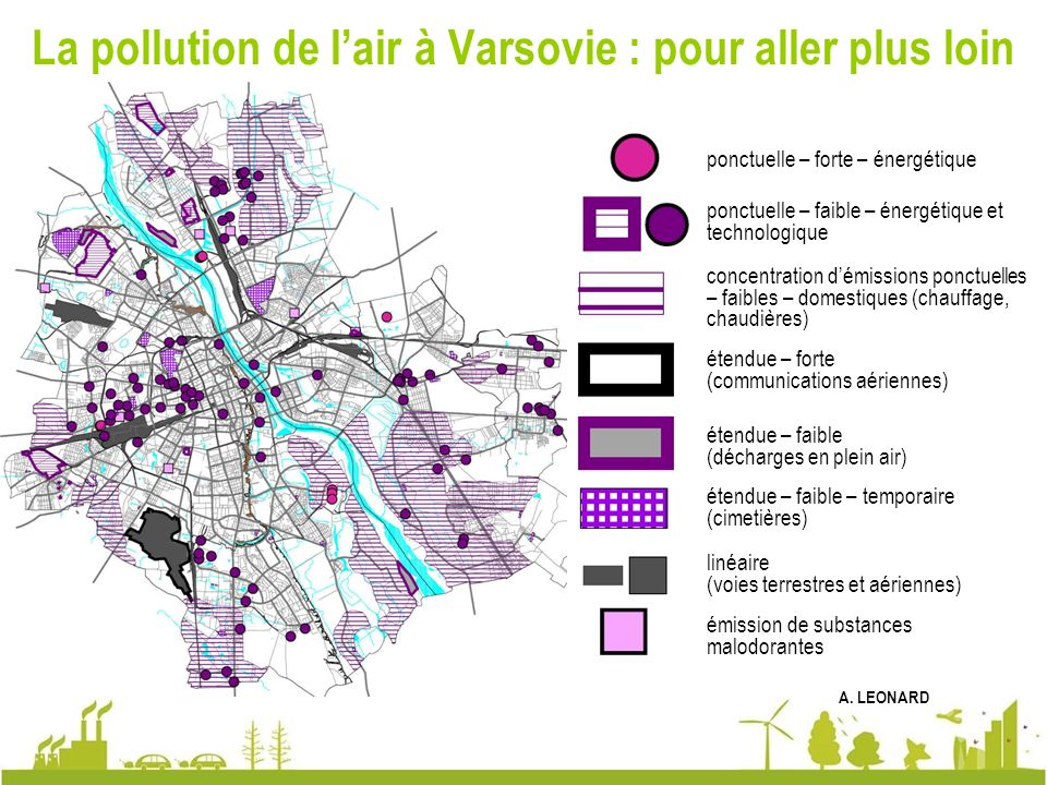 La pollution de l'air à Varsovie : pour aller plus loin