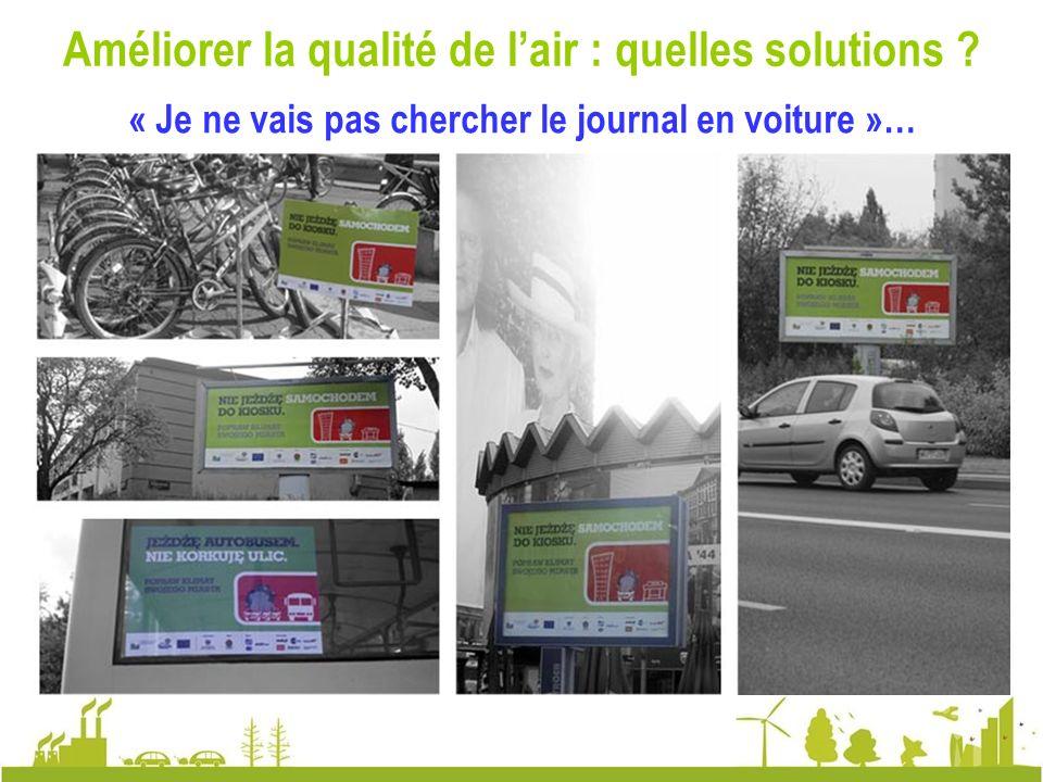 Améliorer la qualité de l'air : quelles solutions