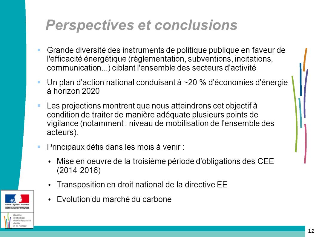 Perspectives et conclusions