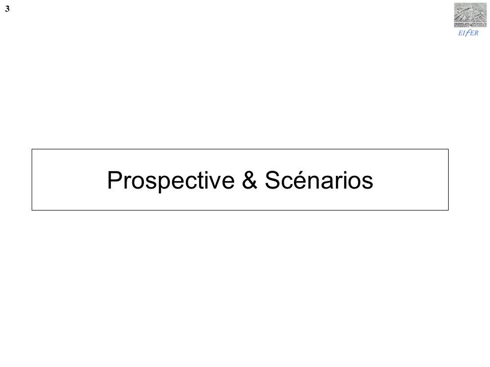 Prospective & Scénarios