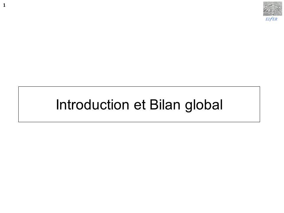 Introduction et Bilan global