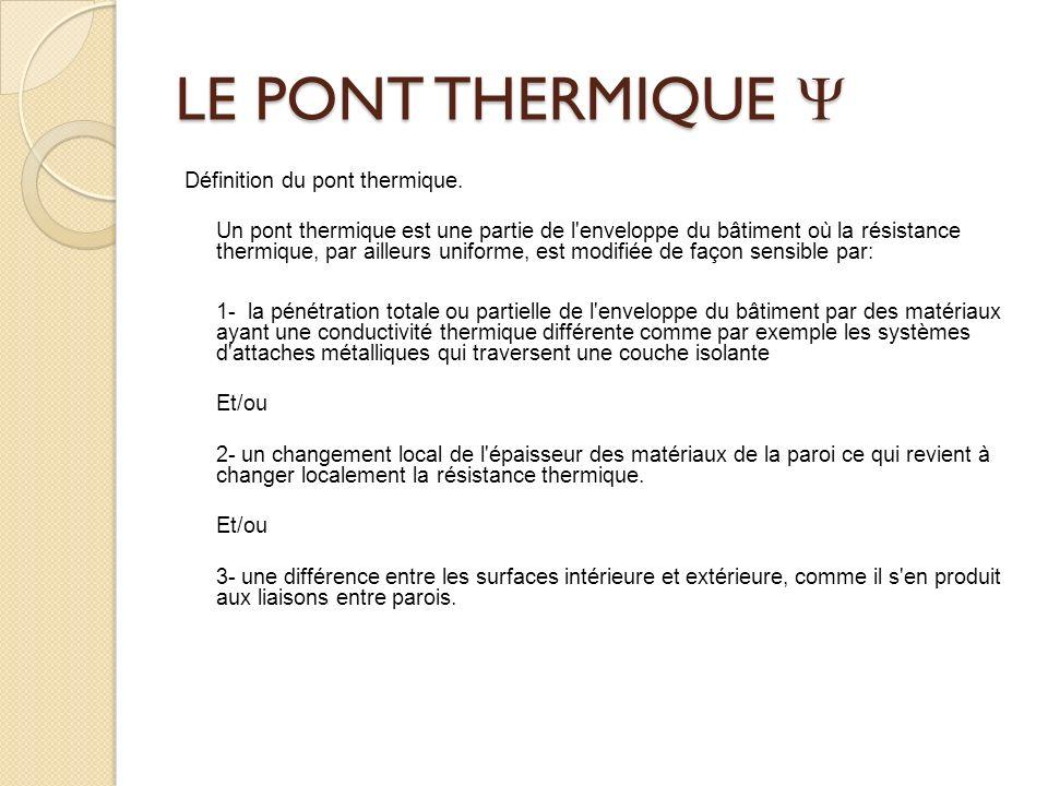 LE PONT THERMIQUE 