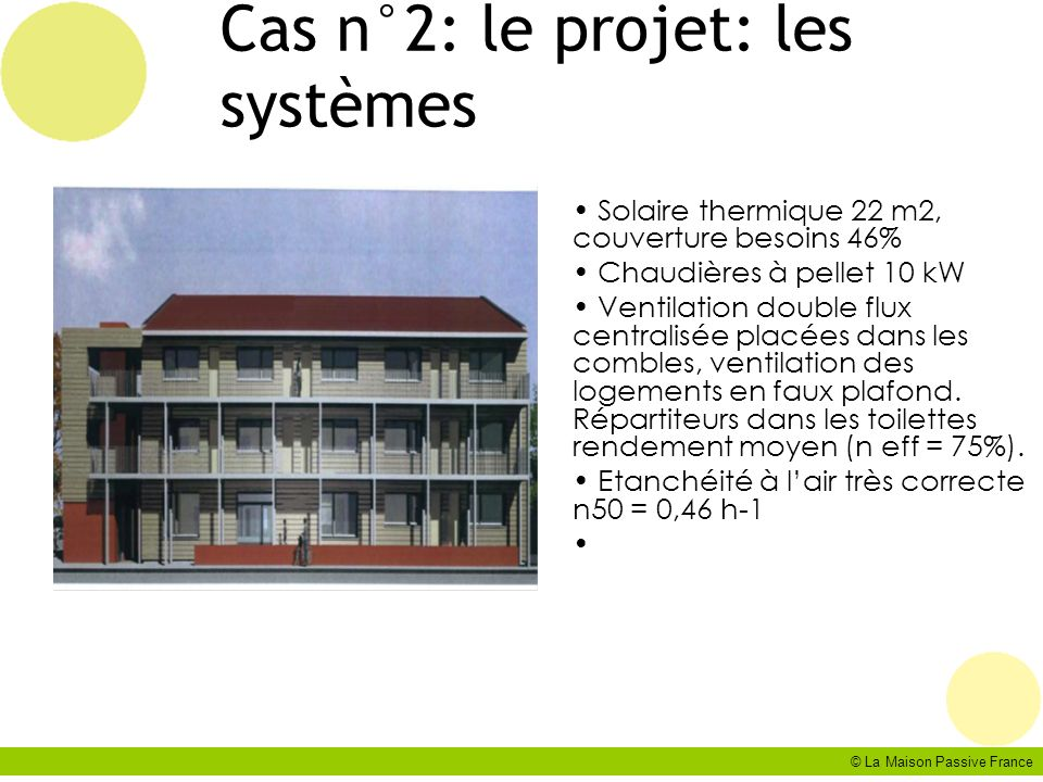 Cas n°2: le projet: les systèmes