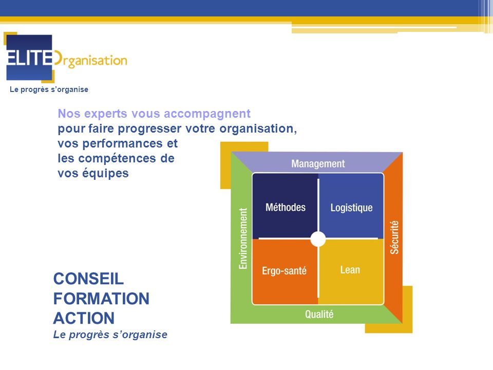 CONSEIL FORMATION ACTION Nos experts vous accompagnent