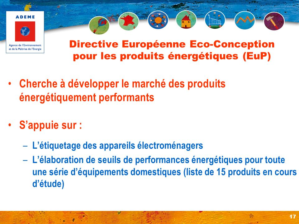 Directive Européenne Eco-Conception pour les produits énergétiques (EuP)