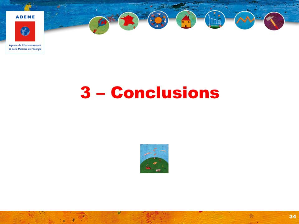 3 – Conclusions