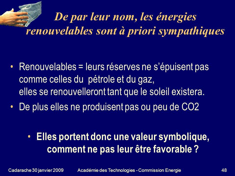 De par leur nom, les énergies renouvelables sont à priori sympathiques