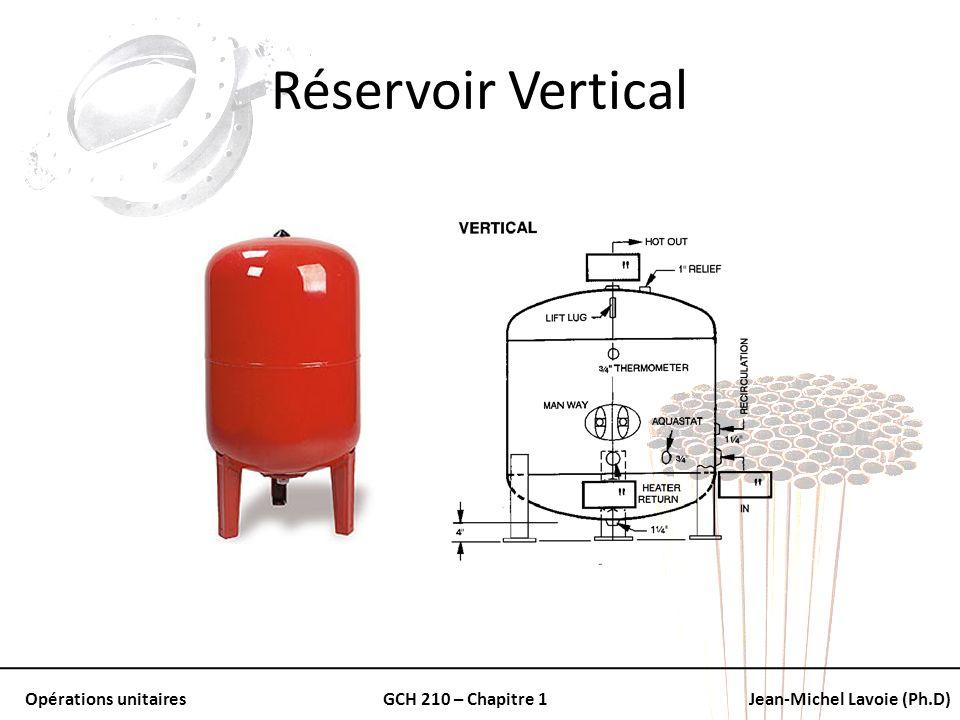 Réservoir Vertical
