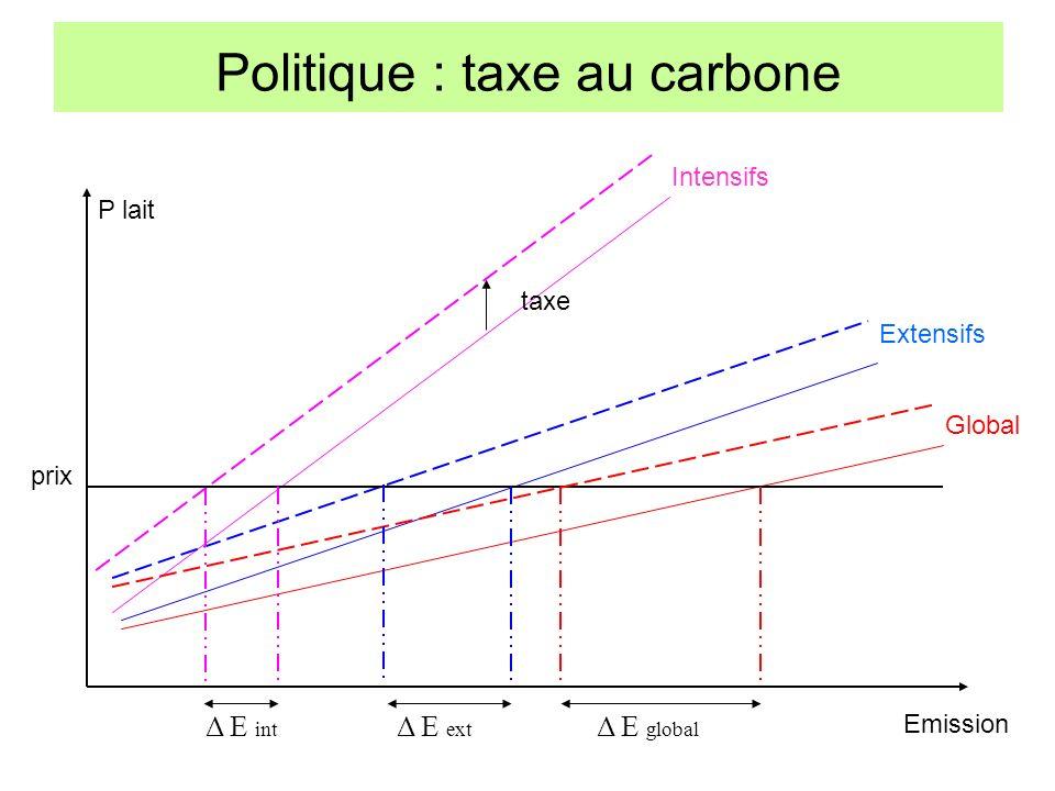 Politique : taxe au carbone