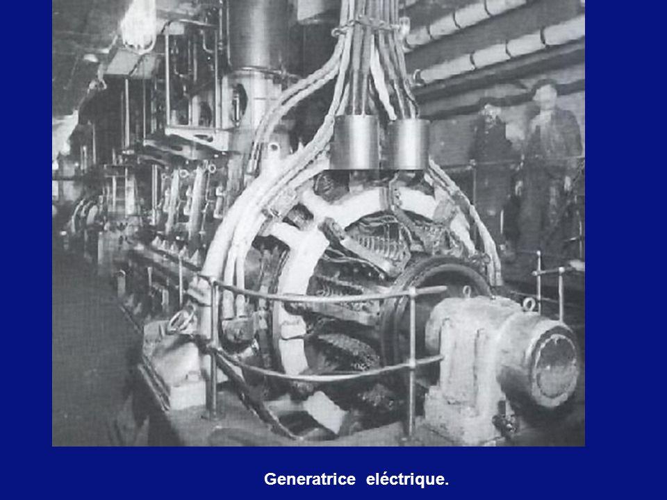 Generatrice eléctrique.
