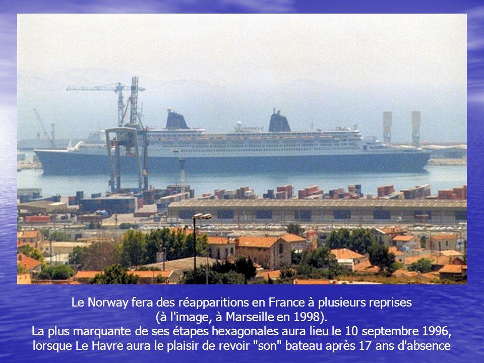 Le Norway fera des réapparitions en France à plusieurs reprises