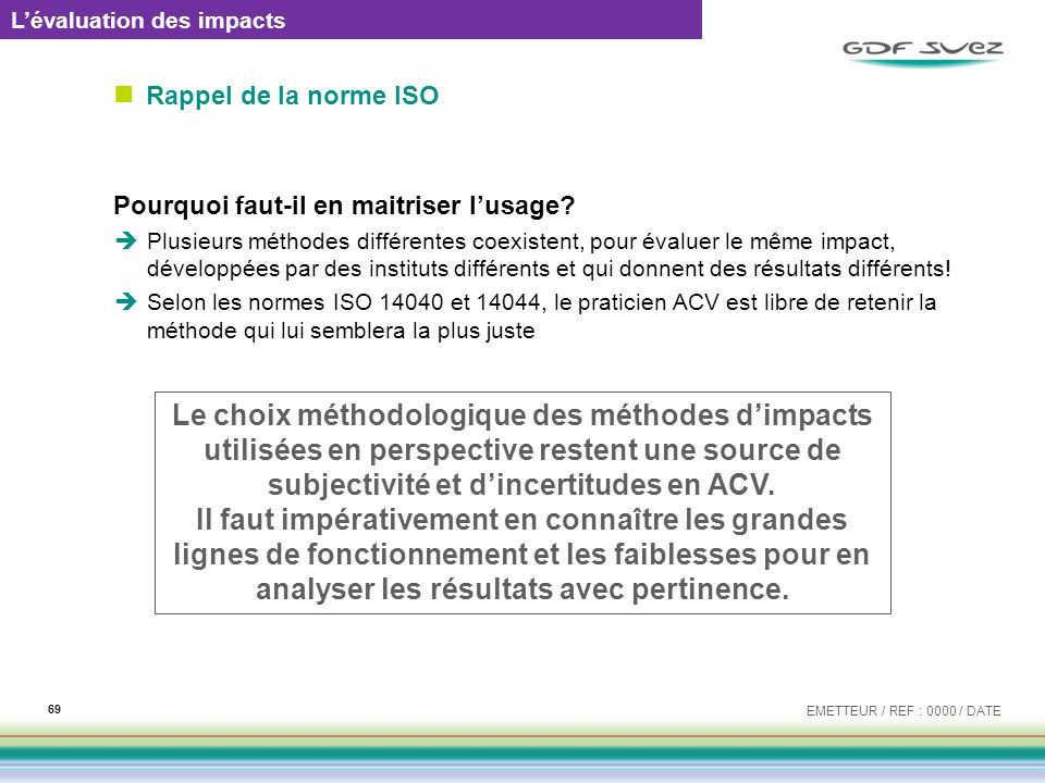 L'évaluation des impacts