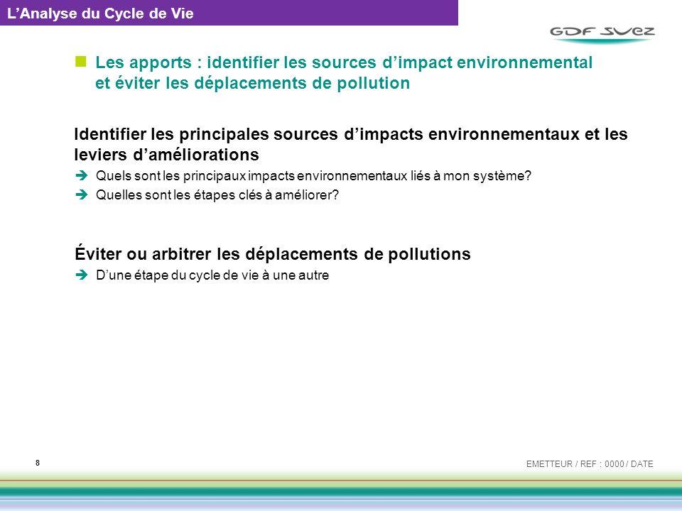 Éviter ou arbitrer les déplacements de pollutions