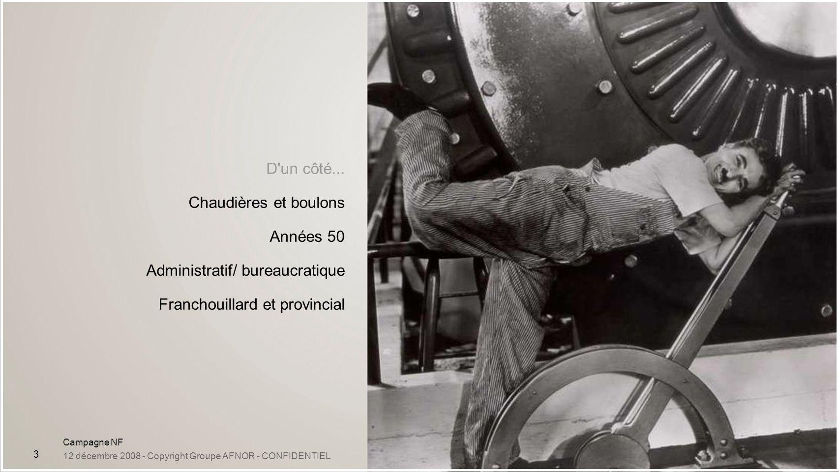 Administratif/ bureaucratique Franchouillard et provincial