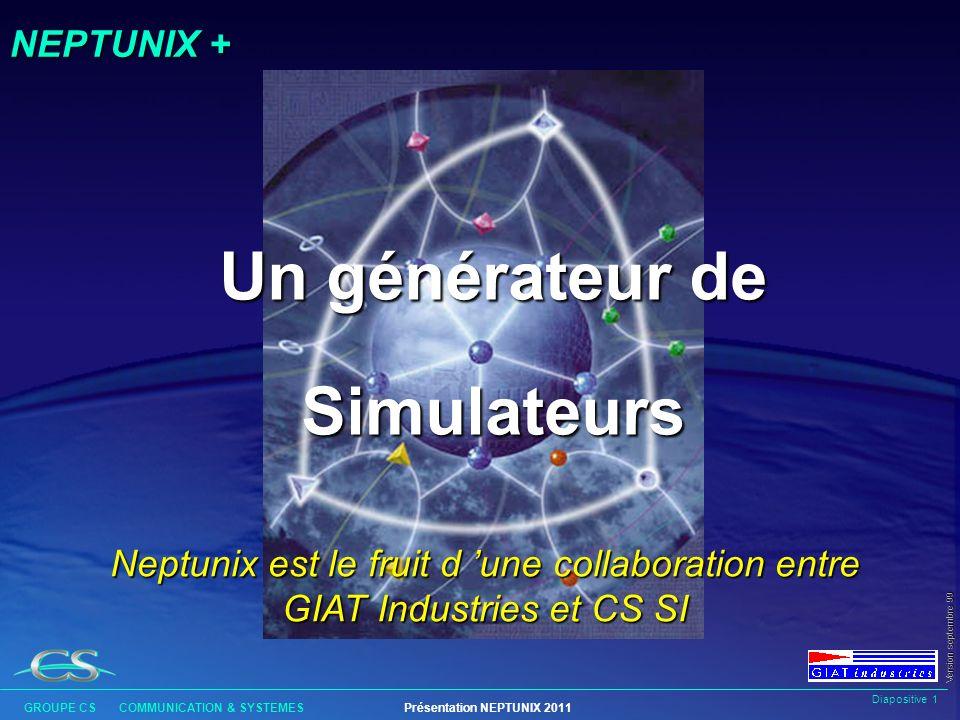 Un générateur de Simulateurs