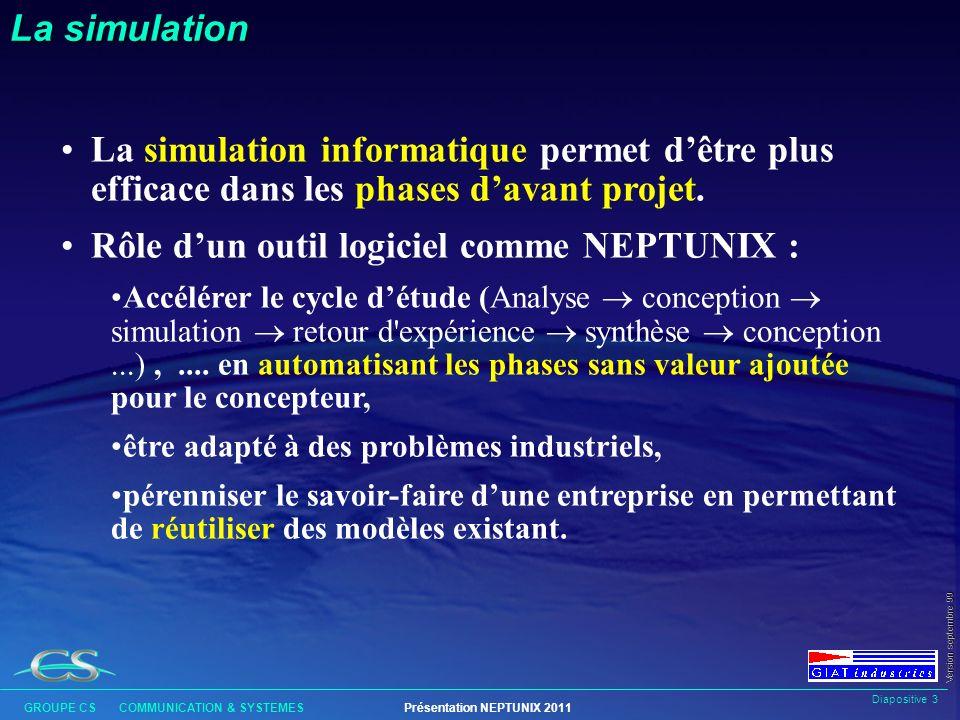 Rôle d'un outil logiciel comme NEPTUNIX :