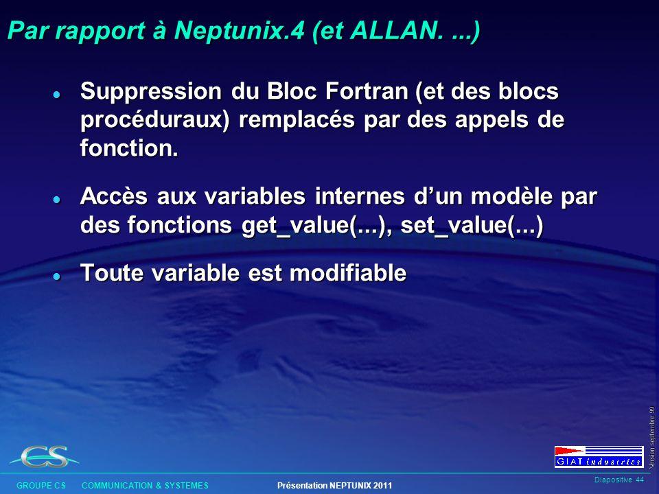 Par rapport à Neptunix.4 (et ALLAN. ...)