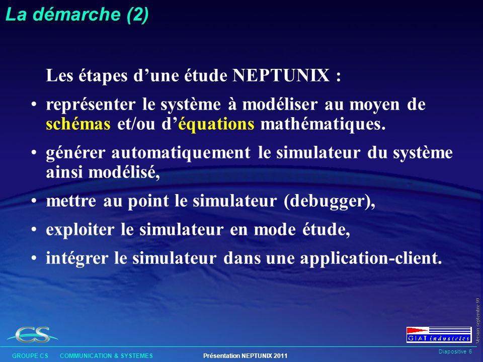 Les étapes d'une étude NEPTUNIX :