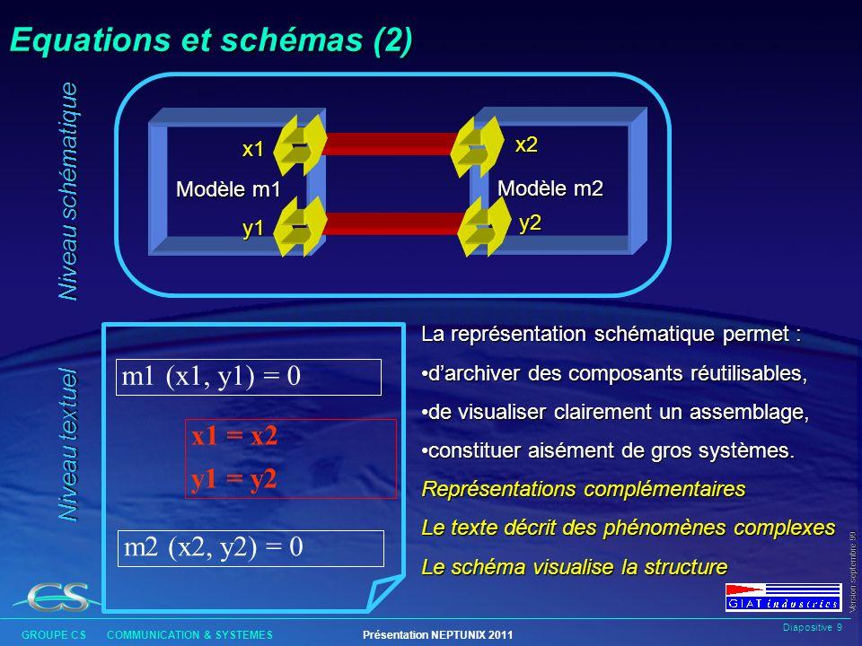 Equations et schémas (2)