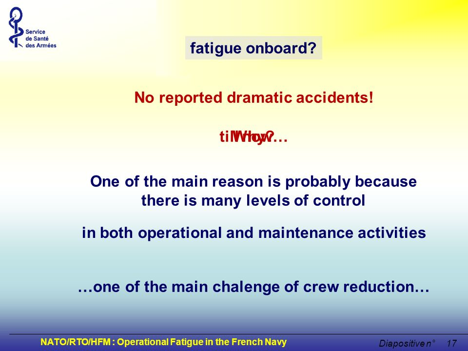 No reported dramatic accidents!