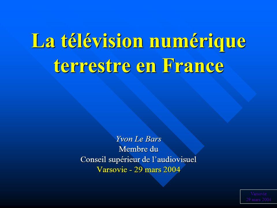 La télévision numérique terrestre en France