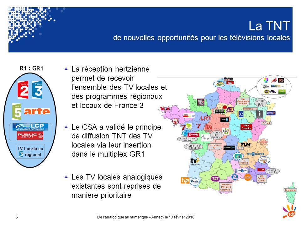 La TNT de nouvelles opportunités pour les télévisions locales