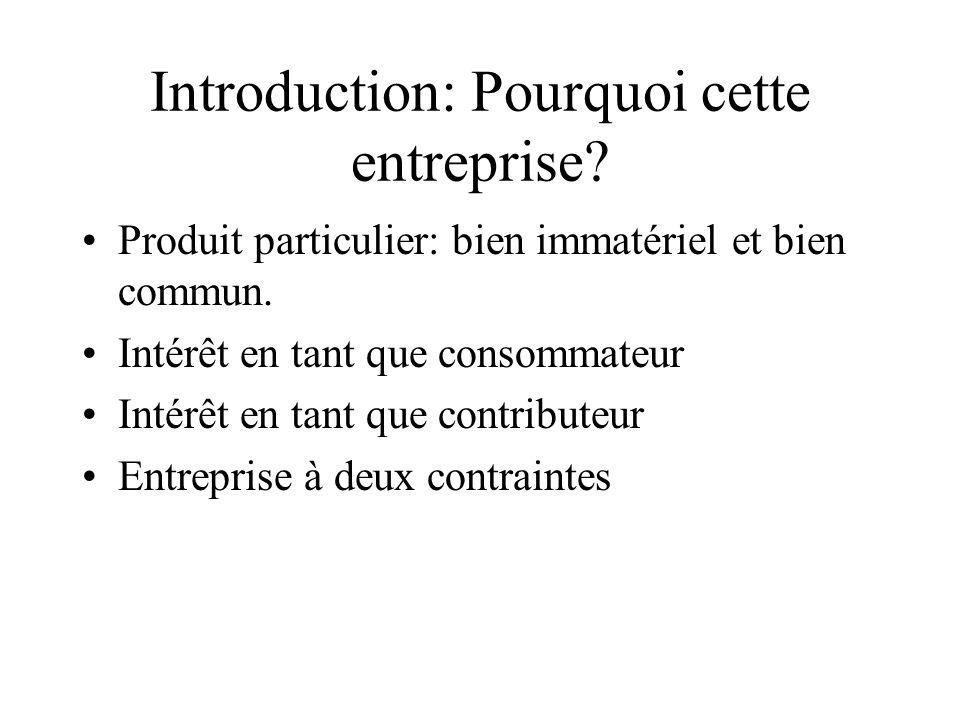 Introduction: Pourquoi cette entreprise