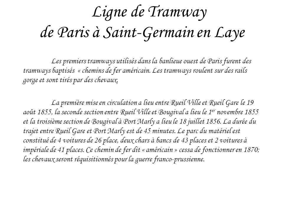 Ligne de Tramway de Paris à Saint-Germain en Laye