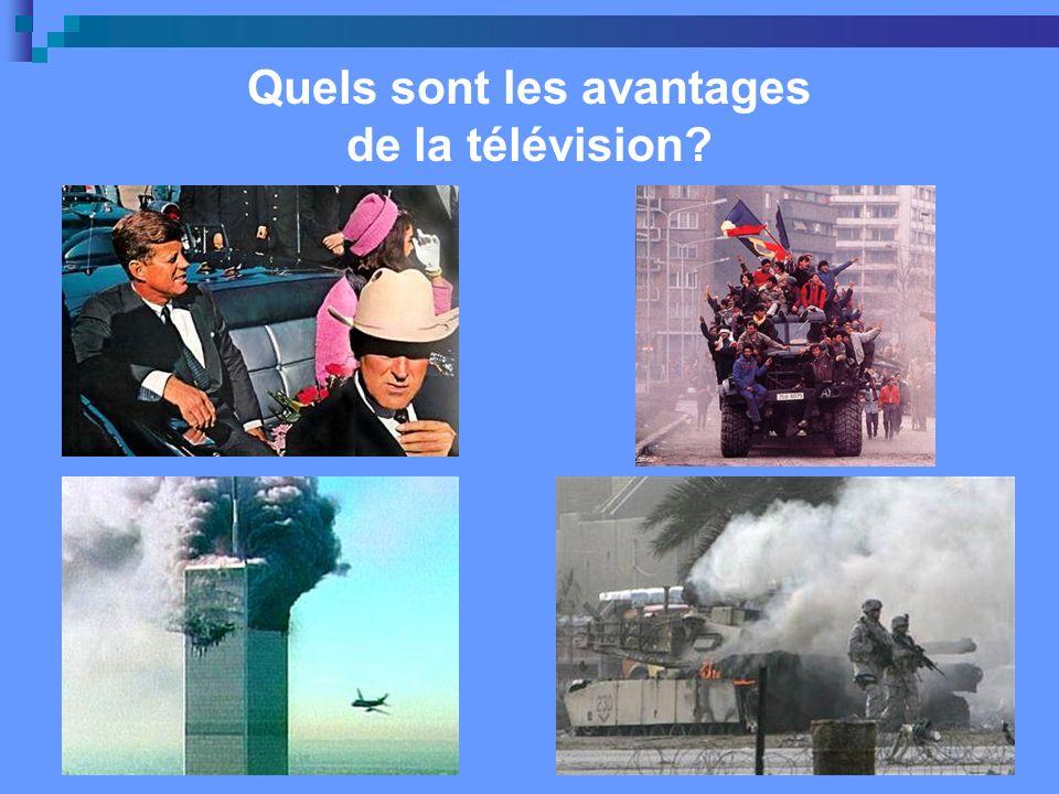 Quels sont les avantages de la télévision