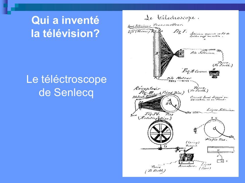 Le téléctroscope de Senlecq