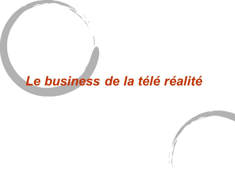 Le business de la télé réalité